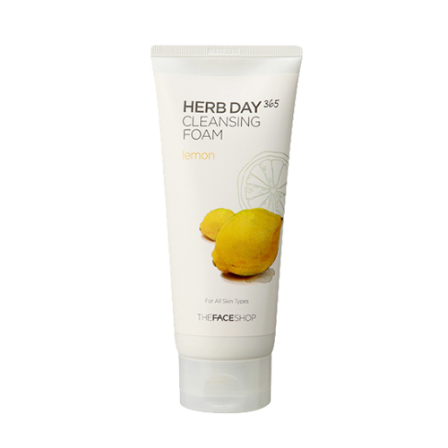 THE FACE SHOP – Herb 365 Cleansing Foam Lemon – 170ml